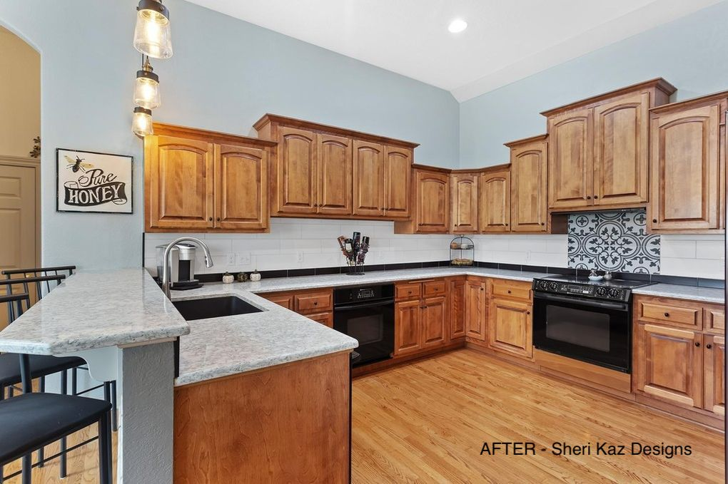 Kitchen Remodel After Picture by Sheri_Kaz_Designs
